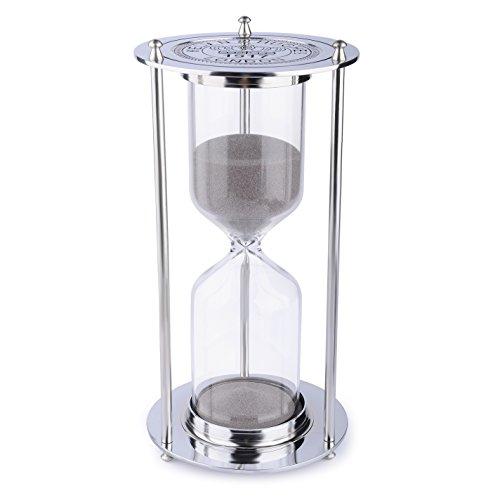 Sanduhr, BNEST 60 Minuten Stundenglas Metall Europa Retro Klassik Style 1 Stunde Renaissance Uhr...