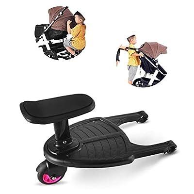 SparY Comfort Rollbrett, Zwillinge Babywagen Zwei Kinder Stehplatte Sitzsitz Kinderwagen Zubehör Kinderwagen Zusatzpedal