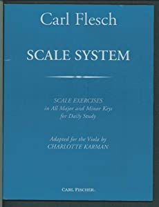 Scale System : Scale Exercises in All Major and Minor Keys for Daily Study for viola