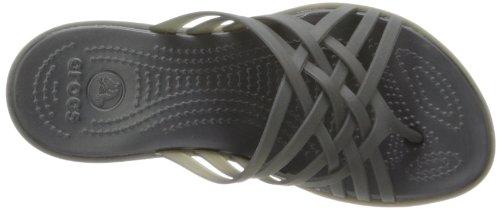 Crocs Huarache, Tongs femme Noir (Black/Black)