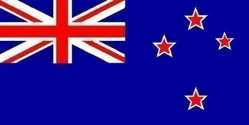 Ndier Drapeau de la Nouvelle-Zélande Polyester Drapeau Idéal pour intérieur et extérieur Drapeau 150 x 90 cm