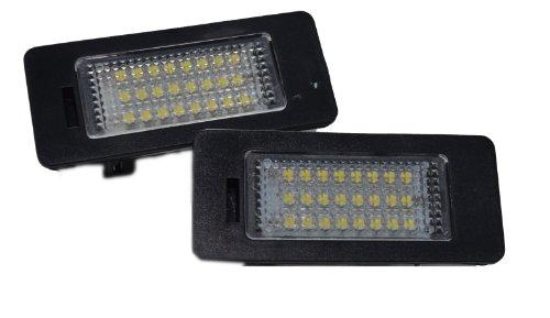 Handycop® Kennzeichenbeleuchtung für A5 / Q5 / A4 B8 / S5 / TT ab 2007 - Xenon Optik mit Zulassung