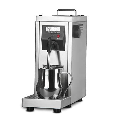CGOLDENWALL MS-130D Kommerziellen Automatische Elektrische Milchaufschäumer Maschine Steamer Heizung Dampf Milchblase Maker für Kaffee Milch Latte Cappuccino Foamer 0,7L 220 V