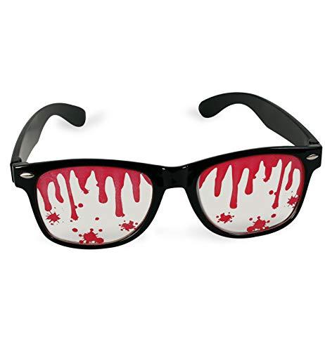 FASCHING 50365 Halloween Blutige Brille Blut Sonnenbrille NEU/OVP