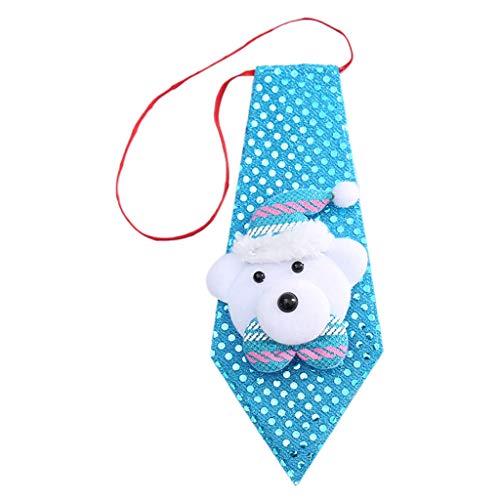 Erwachsene Kind Pailletten Glitter Weihnachten Krawatte Party Kostüm Elastische Krawatte Dress Up