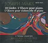 28 Lieder/Piano/Violoncelle and Piano