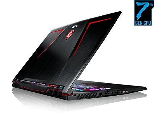MSI GE73VR-7RF Laptop (Windows 10, 16GB RAM, 1250GB HDD) Black Price in India