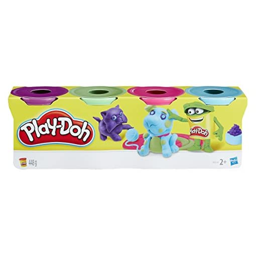 Play-Doh-14073-Sortiment-Farbe-classic-Tubs-Pack-von-4