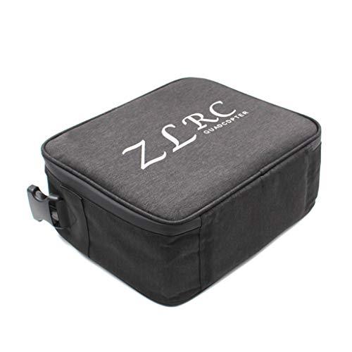 Webla - Sacchetto di immagazzinaggio portatile spalla zaino impermeabile per Drone Sg906 Gps Quadcopter, EVA (nero)