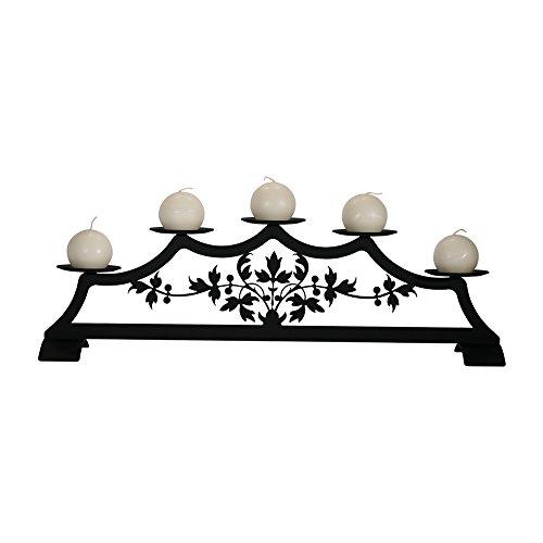 71,1cm Viktorianischer Kamin Säule Kerzenhalter -