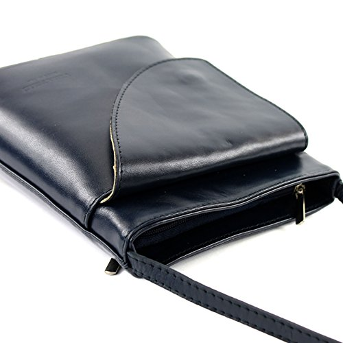 Borsa borsa a tracolla linea donna italiana borsa a tracolla piccola borsa D1 Dunkelblau