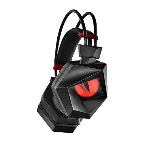 Preisvergleich Produktbild LGQ-SMA PC-Headset,  Mehrzweck-USB-Headset,  7.1-Kanal-Kopfhörer,  Starker Bass