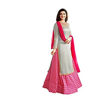 AnK Women's Dress Material (DCBL_Pink_Free Size)