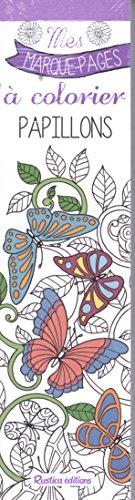 Mes marque-pages à colorier : papillons par Marica Zottino
