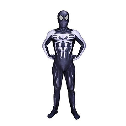 DFRTYE Spiderman Cosplay Kostüm Kinder,Superheld Halloween Film Kostüm Requisiten Bodysuit Lycra Unisex - Xxl Superhelden Kostüm Hunde