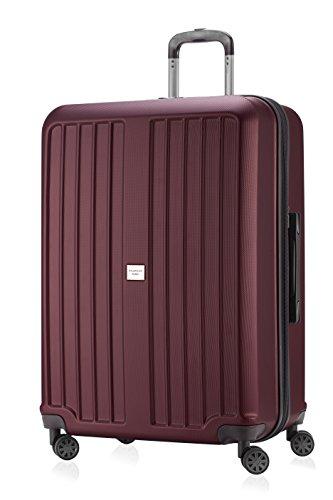Hauptstadtkoffer ® 126 l, dimensions 75 x 52 x 31 cm)-étui rigide-xBERG hK - 8280–combinaison tSA-différents coloris, rouge (Rouge) - HK8280-RED-126m