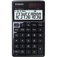 CASIO SL-1000TW-BK calcolatrice tascabile - Display a 10 cifre, struttura in metallo di colore nero - Confronta prezzi