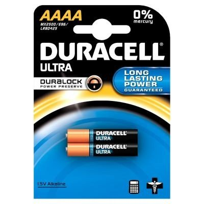 Duracell 041660 non-rechargeable battery – non-rechargeable Batteries (Alkaline, CYLINDRICAL, AAAA, Blister)