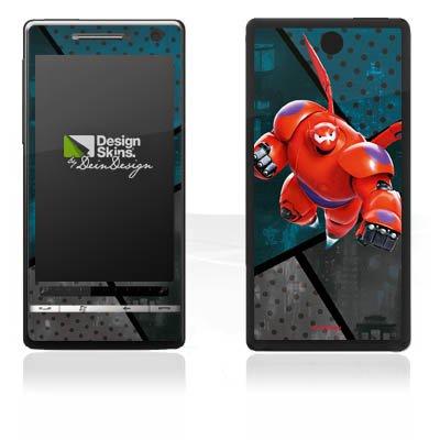 DeinDesign HTC Touch Diamond 2 Case Skin Sticker aus Vinyl-Folie Aufkleber Disney Baymax Merchandise Fanartikel - 2 Big Six Hero