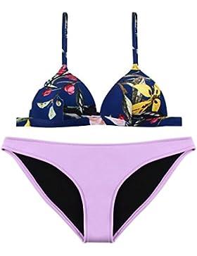 Costume da bagno delle signore Costume da bagno nuziale dello Swimsuit della stazione termale del bikini spaccato...