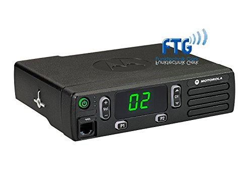 MOTOROLA DM1400 VHF 136-174MHz analog Inkl. Mikrofon, Unterbauhalterung + kundenspezifische Programmierung (Vhf Funkgeräte Motorola)