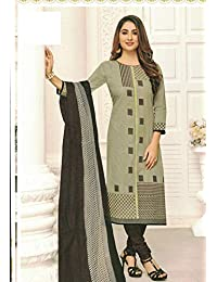 4aff3b6e12 Rashmi Selection Women's Printed Pure Cotton Salwar Suit Dress Material  With Dupatta (Unstitched)