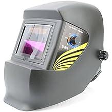 Oscurecimiento automático Spargo soldadura ojos Protección Solar casco corte con Gas Tig soldador Mig con varios