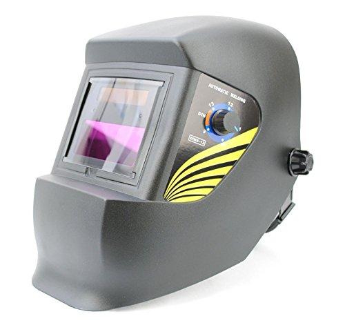 Spargo Automatische Abdunkelung Schweiß Maske Helm Schirm Schild Solar Betrieben Gas MIG TIG ARC Welder (Schweißen Gas-objektiv)