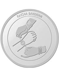 IBJA Gold 10 Gm, (999) Raksha Bandhan Silver Precious Coin