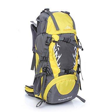 45 L Tourenrucksäcke/Rucksack Rucksack Camping & Wandern Klettern Multifunktions andere Orange