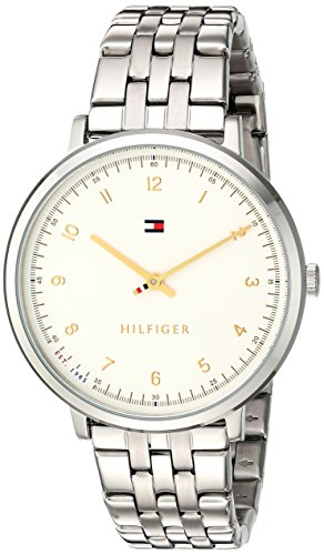 Tommy Hilfiger Women's 'Sport' Quartz Stainless Steel Casual Watch, Color: Silver-Toned (Model: 1781762)