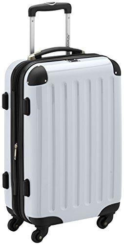 HAUPTSTADTKOFFER - Bagaglio a mano Rigida Alex, TSA, Taglia 55 cm, 42 Litri, Colore Bianco