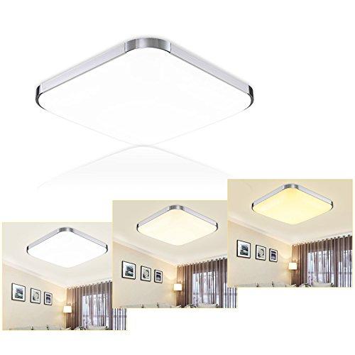 Hengda® 36W LED Deckenlampe Deckenleuchte Wandlampe Badezimmer Wohnzimmer Warmweiß/ Neutralweiß /kaltWeiß 2700-4000-6500K,85V-265V Fit Wohnraum Esszimmer Zimmer