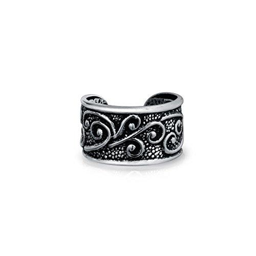 bling-jewelry-tribale-celta-oxidada-manguito-oido-una-pieza-plata-esterlina-925