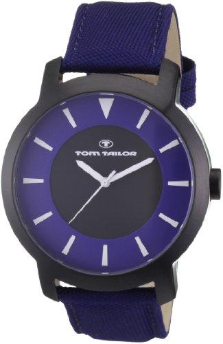 Tom Tailor - 5407603 - Montre Homme - Quartz Analogique - Bracelet Nylon Bleu