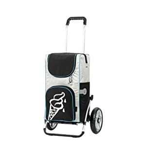 Einkaufs-Trolley mit kompletter Thermo-Tasche Andersen Royal Alu Shopper IPEK