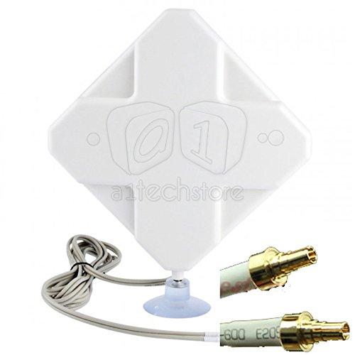 35DBI 3G 4G LTE TS9 Antenna HUAWEI R212 MF93 E392 E398 E3276 E5372 R215 E8278 Router Mobile Broadband Test