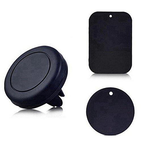 Hosaire Coches de ventilación soporte para teléfono móvil 360 grados soporte para automóvil titular de coche para iPhone Navi 5 / 5S / 6/6 Plus / 6S / 6S Plus / SE / Plus 7/7 Galaxy S3 / S4 / S6 / S6 / S6 Edge / S7 de Huawei, etc