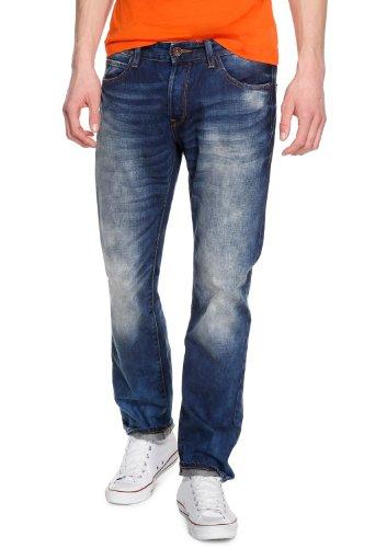 QS by s.Oliver Herren Relaxed Jeans 40.403.71.8005 Blau (Denim)