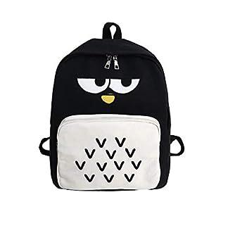 GreatFun Mochila Bolsa de Estudiante Angry Bird Partten Mochila Escolar Ocio Colegio Viento Dulce Caramelo Lienzo Mochila Mochila Mochila Hombro Escuela Bolsa de Ordenador portátil