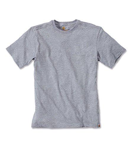 Maddock T-Shirt - Farbe: Heather Grey - Größe: XL (Heavy Shirt Knit)