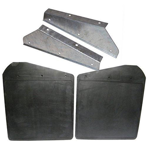 Garde-boues avant + supports de fixation galvanisés RTC4685/DA1188.