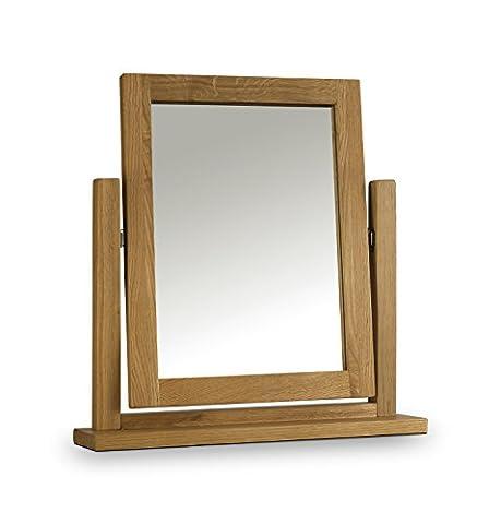 Julian Bowen Marlborough Waxed Dressing Table Mirror, 50 x 12