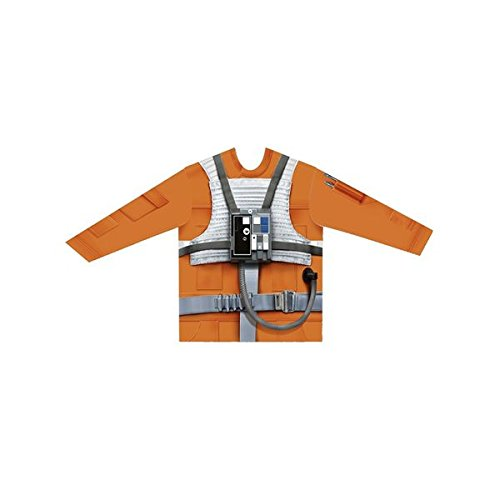 viving Kostüme viving costumes231041 Luke Skywalker Boy Lange Ärmel Shirt (6–8 Jahre, One Size)