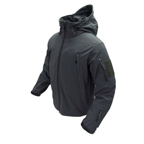 Condor Outdoor Summit Zero Lightweight Softshell Jacket Black (Elastic Double Pull)