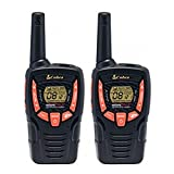 Cobra AM645 Compact Walkie Talkie with VOX, Call alert, 8km Range and over