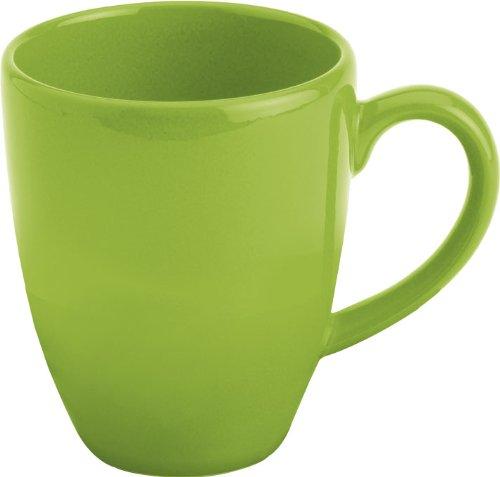 Waechtersbach Fun Factory II Green Apple Jumbo Cafelatte Mugs, Set of 4 by Waechtersbach Waechtersbach Green Apple