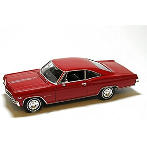 1965 Chevy Impala SS 396 1/24 -Red by Welly