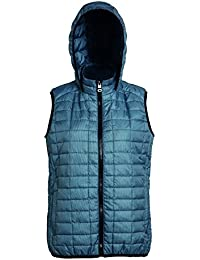 2786 Womens Honeycomb Hooded Gilet, Chaqueta para Mujer