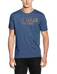 TOM TAILOR Herren T-Shirt Colour Gradient Print Tee